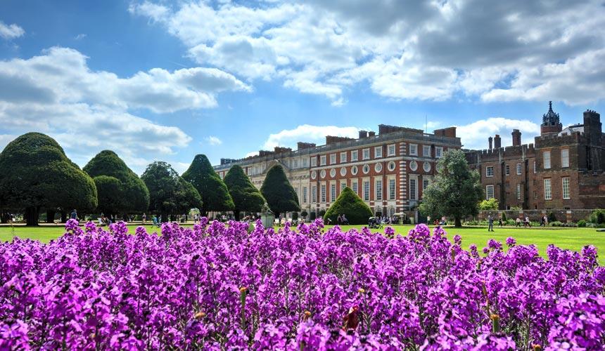 Londons parker og Hampton Court Palace Flower Show