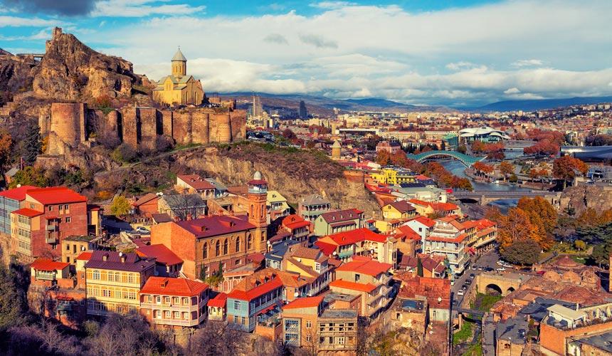 Oplev Georgiens natur og kulturhistorie