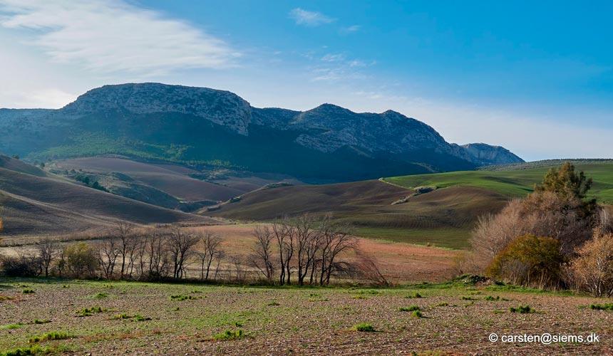 Sydspanien og dets uberørte natur
