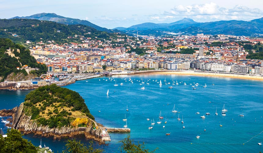 Oplev de spanske perler Bilbao og San Sebastián