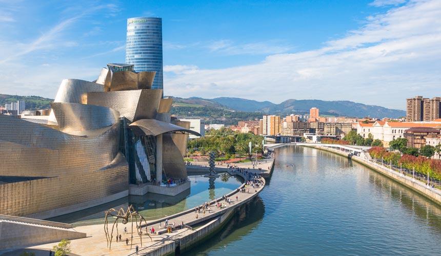 Bilbao flod