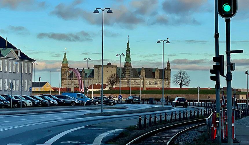Fra Kronborg Slot til Gilleleje og til Frederiksborg Slot