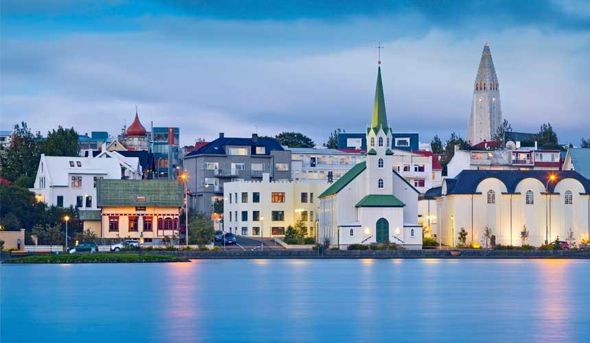 Island i Nordatlanten