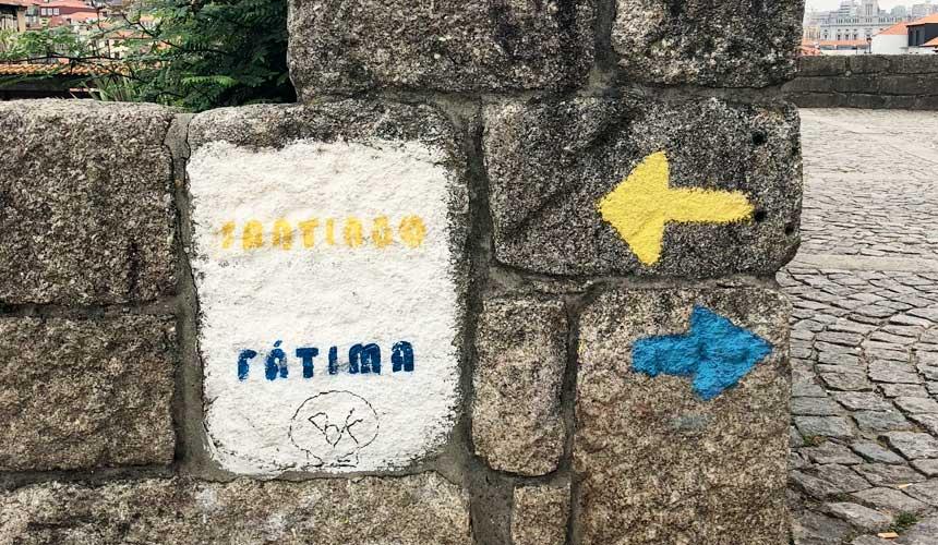 Den portugisiske camino fra Valenca til Santiago