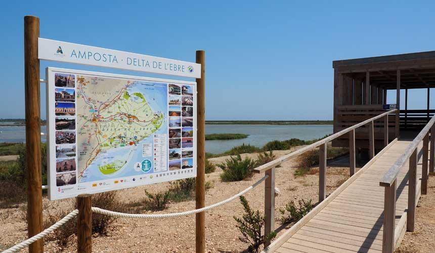 Pyrenæerne og Ebro deltaet
