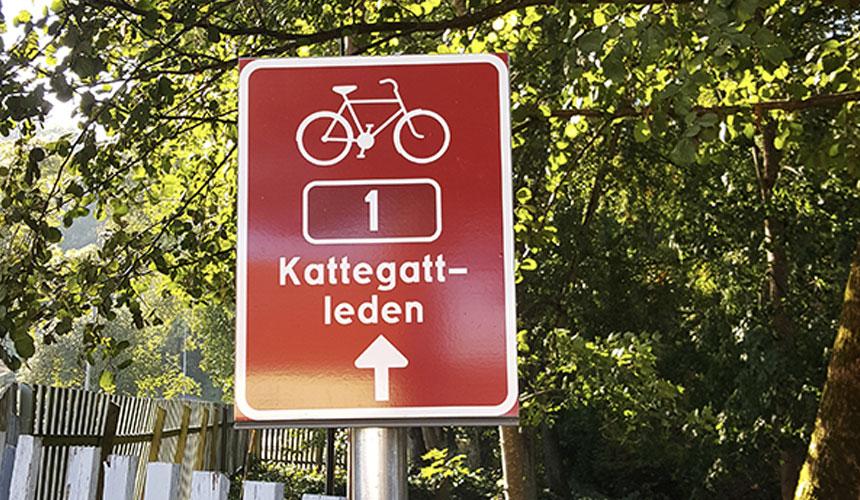 Oplev smukke haver, parker og naturen på cykel