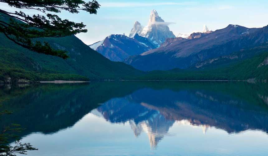 Bjerge og søer argentina