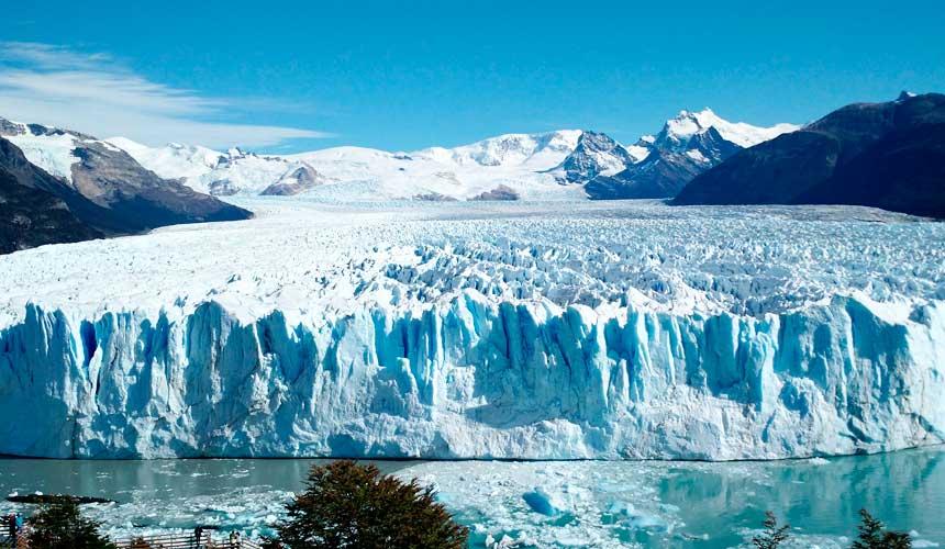Is og bjerge Argentina